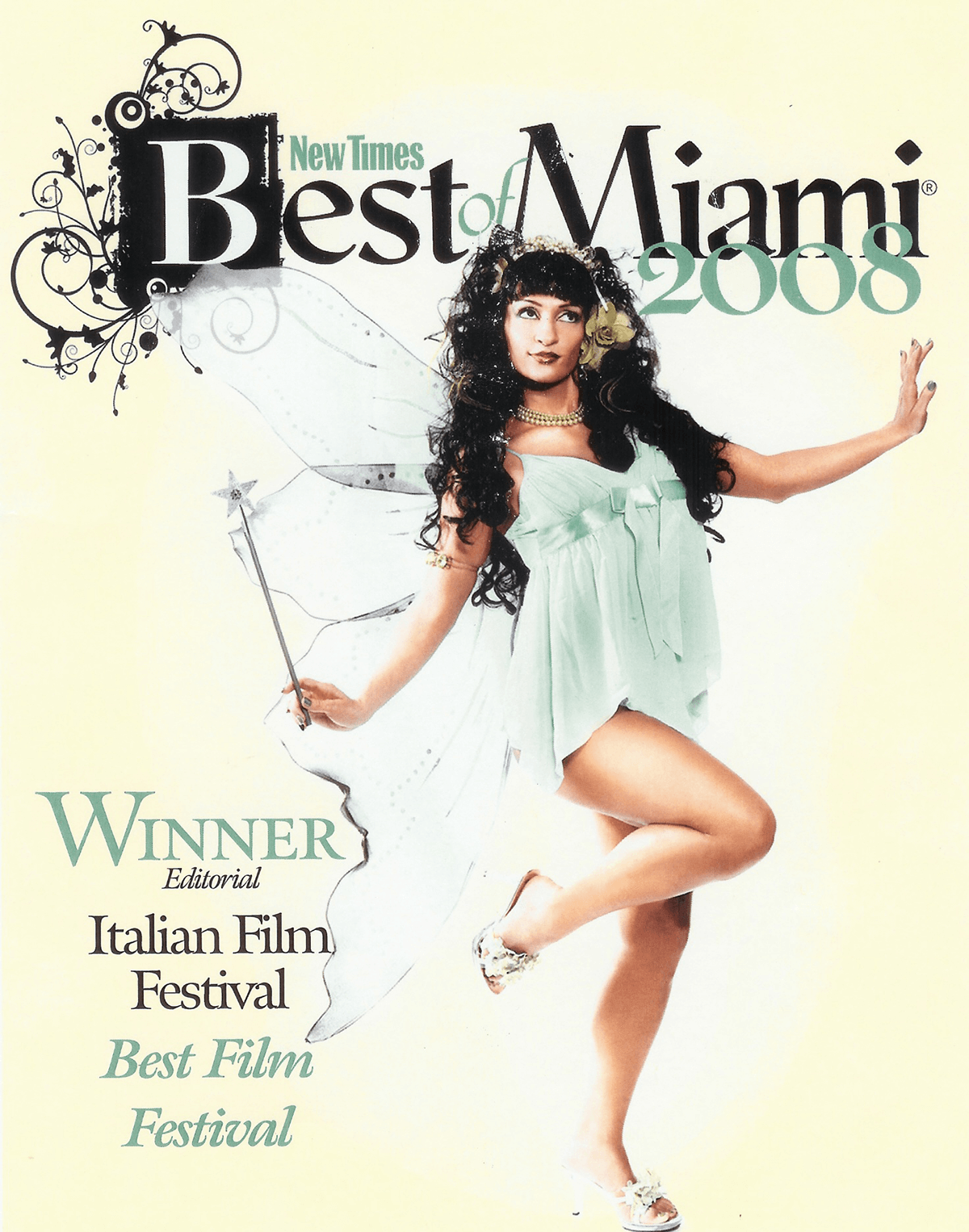 New Times Winner of Best Film Festival 2008 Italian Film Festival