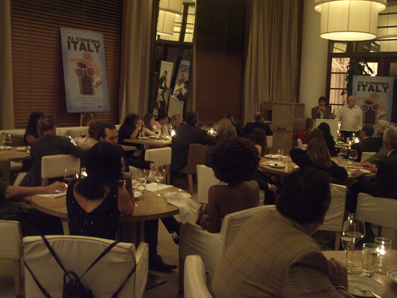 Closing Dinner at Bianca Restaurant at Delano Hotel Miami Beach - XI Cinema Italy<br />