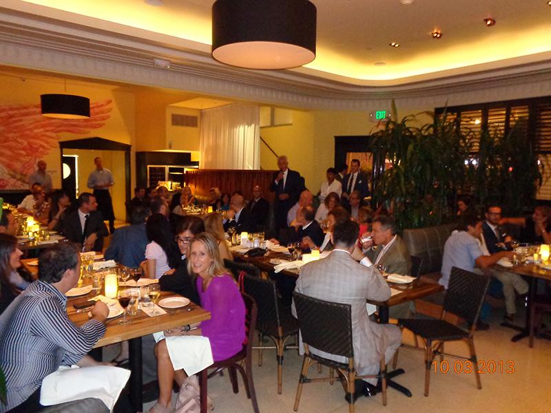 Italy-America Chamber: Spaghetti & Cinema Dinner @ Serafina<br />