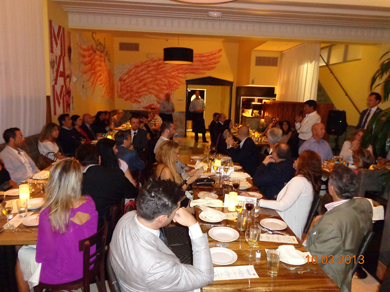 Italy-America Chamber: Spaghetti &amp; Cinema Dinner @ Serafina<br />