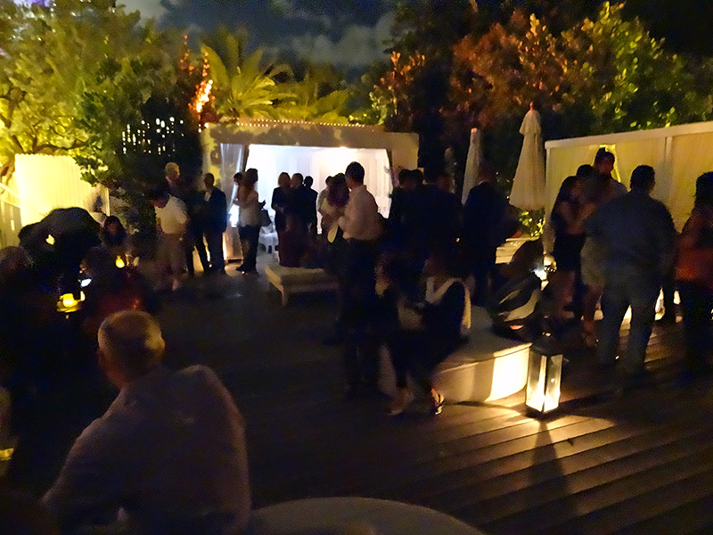 Opening Night Film and Party @ the Pool of the Delano Hotel - XI Cinema Italy<br />