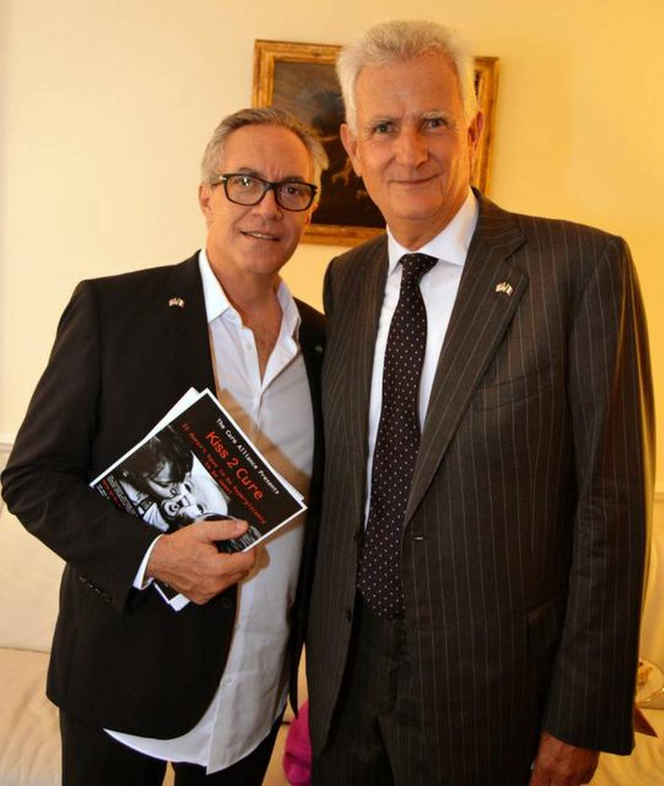 Cinema Italy joins Dr. Ricordi and Consul Barattolo in - Kiss 2 Cure - The Search to Cure Diabetes<br />