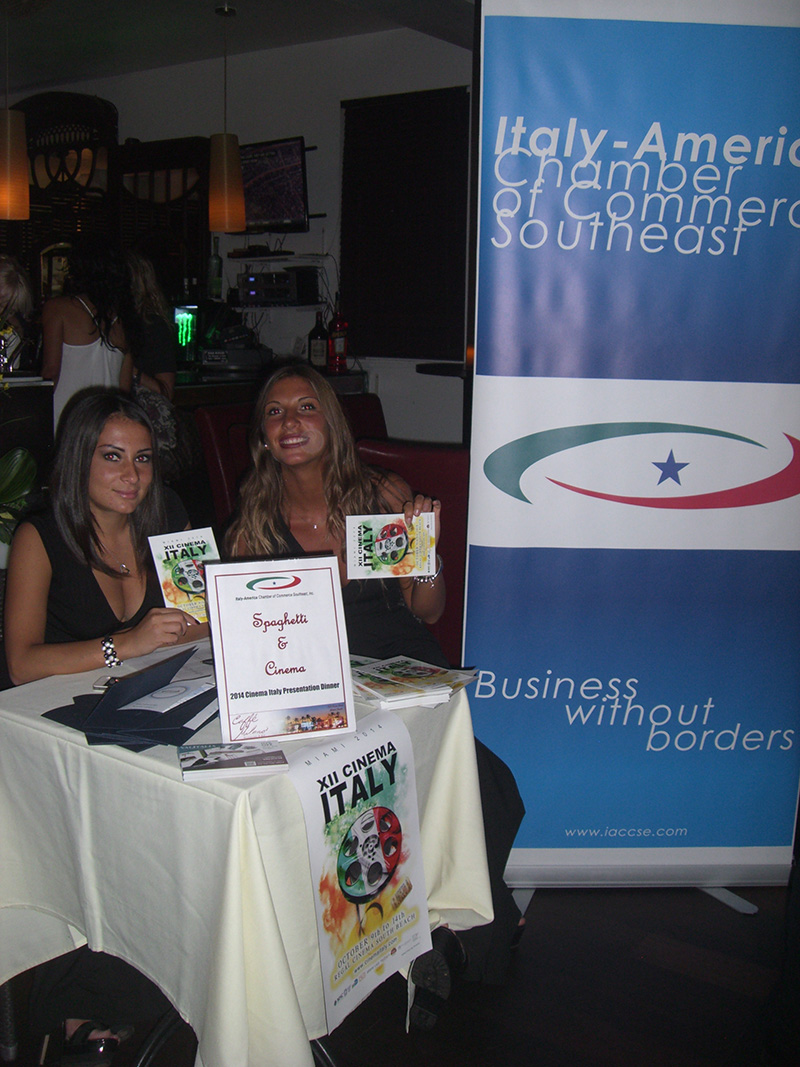 Pre event with Italy-America Chamber at Caffé Milano Miami Beach<br />