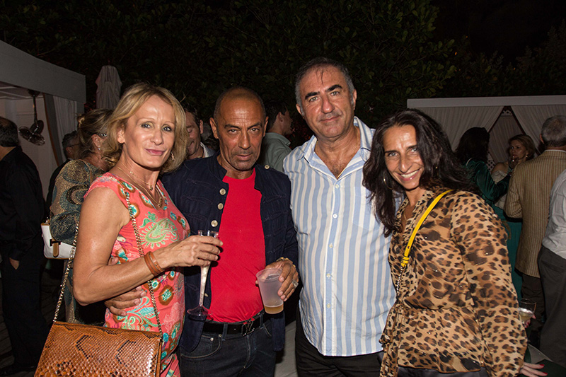 Opening Night Party @ the Pool of the Delano Hotel Miami Beach - XII Cinema Italy<br />