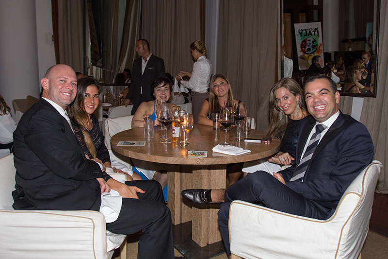 Appreciated Sponsor of Cinema Italy: Roca Gonzalez P.A at the Closing Dinner at Bianca Restaurant at Delano Hotel Miami Beach - XII Cinema Italy <br />