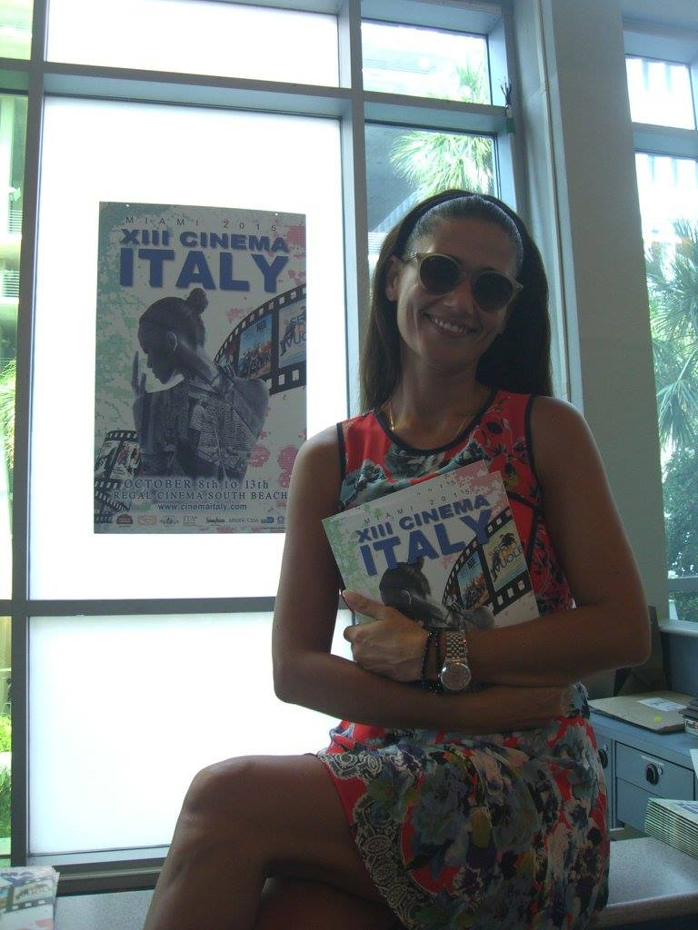 Meet &amp; Greet with Barbara Tabita: Leading actress of Italo Barocco surprised our Cinema Italy audience in the theatre, presenting the film <br />