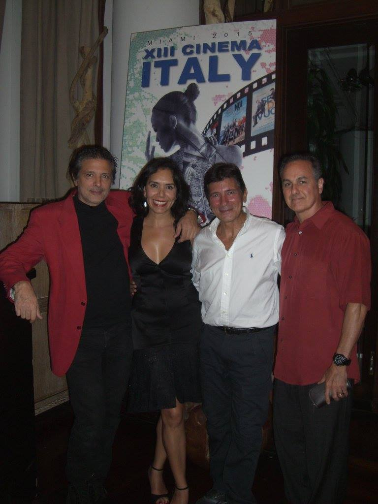 Closing Night @Bianca at Delano -  here with our valued sponsor MRA - Marilu Perez-Perez Real Estate Advisor and her husband Israel <br />