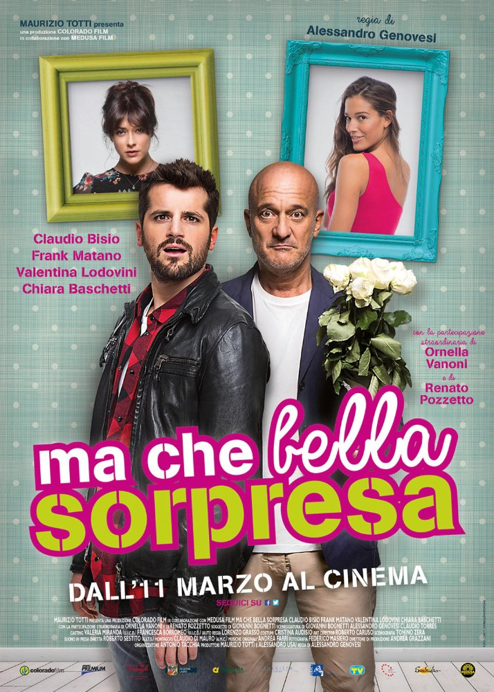 Ma Che Bella Sorpresa 14th CINEMA ITALY Miami - Italian Film festival 2016